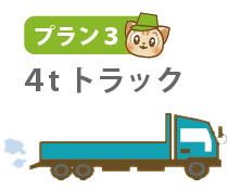 プラン3:4tトラックに積み放題プラン